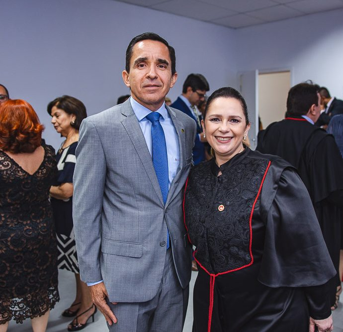 Julio Saraiva e Nadia Maia