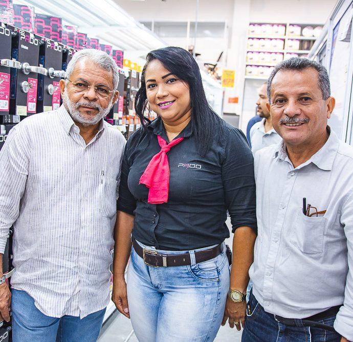 Junior Sampaio, Ticiana Da Silva E Emanuel Sampaio