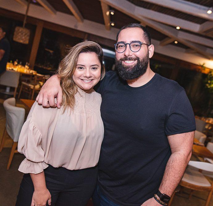 Karla Rodrigues e Luiz Victor Torres