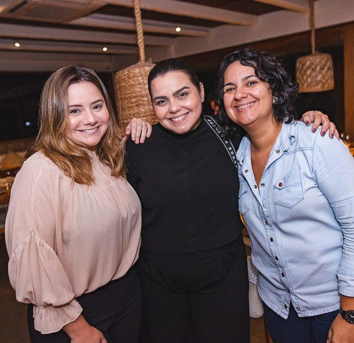 Karla Rodrigues, Renata Benevides e Monaliza Ximenes