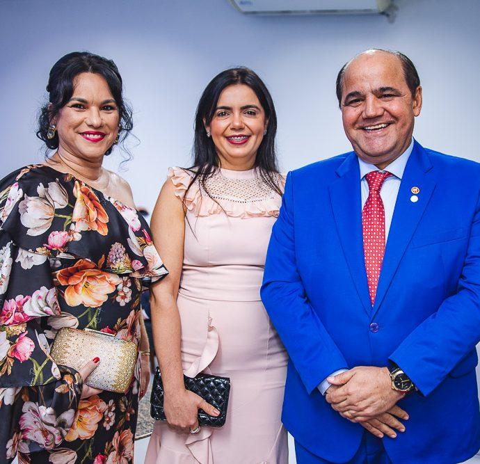 Katia Rejane, Emanuele Coelho e Gonzaga Coelho