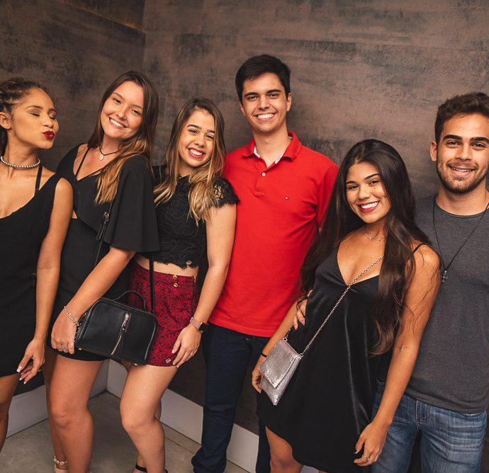 Lana Lima, Maria Leticia, Luana, Rafael Viana, Lara Gabriela E Gustavo Alencar