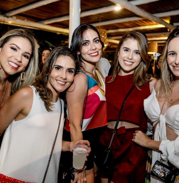 Larissa Juca, Mayra Moura, Adaiana De Paula, Julia Mont`alverne E Ladir Linhares