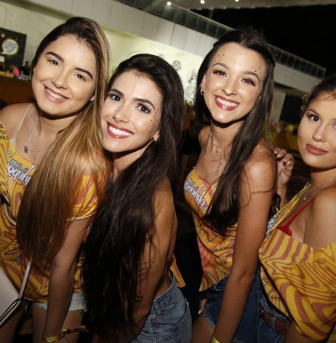 Larissa Ponte, Lais Lemos, Caroline Alves E Lara Tavares