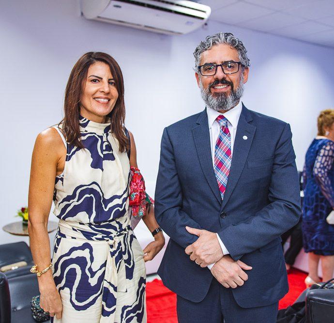 Laureria Monteiro e Denis Cali