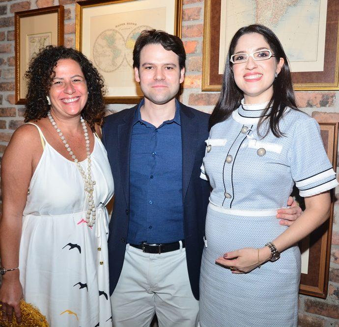 Liana Feingold, Tiago Guimarães E Mara Crisóstomo