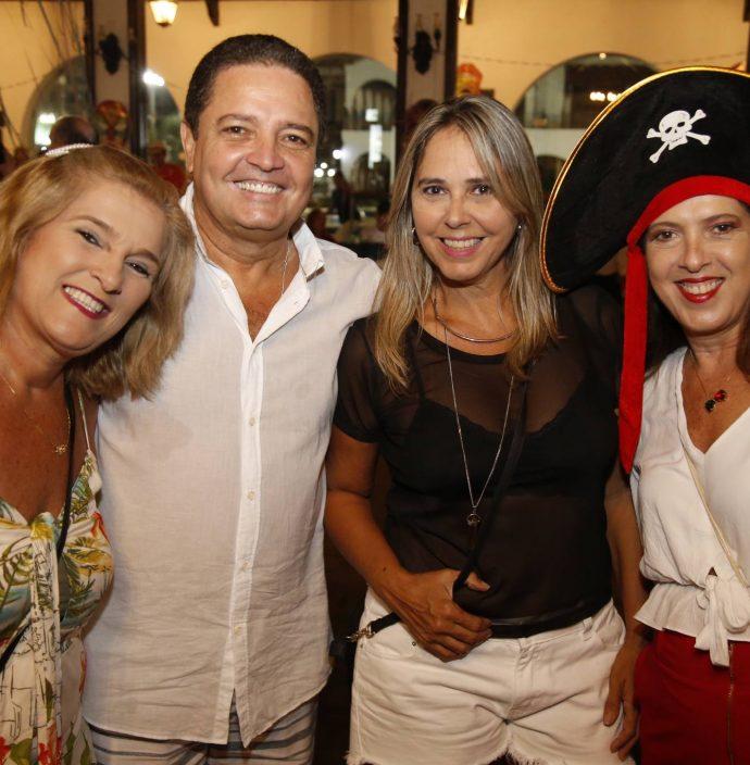 Lolo Aguiar, Andre Ciarline, Ruth Mendonca E Fernanda Aguiar