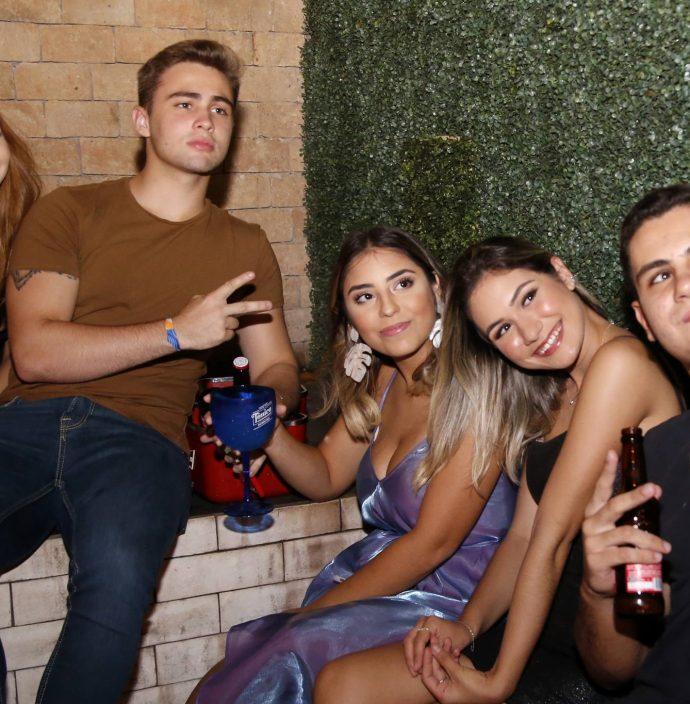 Luana Tavares, Will Bayer, Kauane Maia, Raquel Moreira E Joao Pedro
