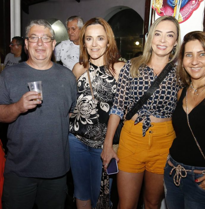 Luciana Marrocos, Ives George, Suyane Gomes E Luciana Catunda