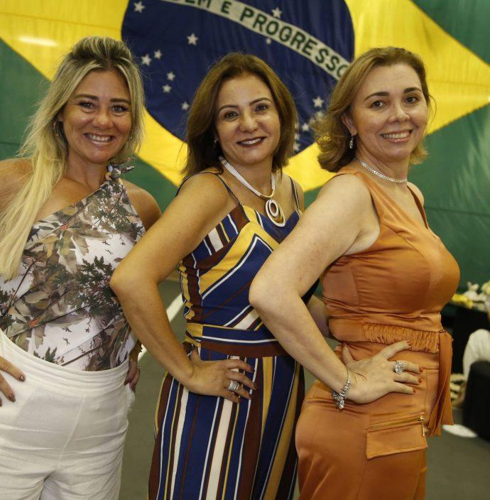Luciana Silva, Simone Cardoso E Conceicao Marques