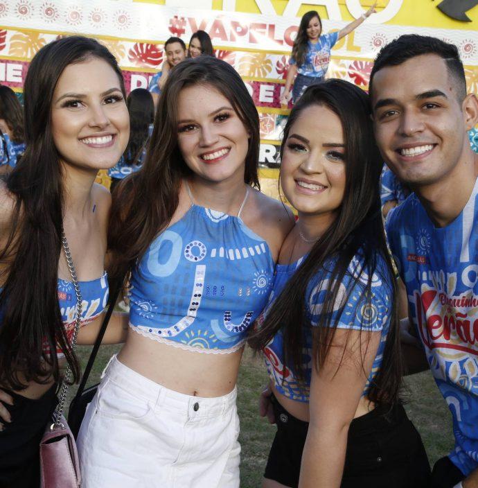 Ludmila Maria, Isabela Gondim, Ariadna Rocha E Diego Mendes