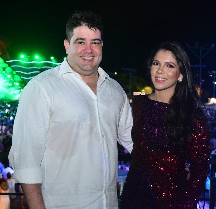 Luis André e Luana Guimarães