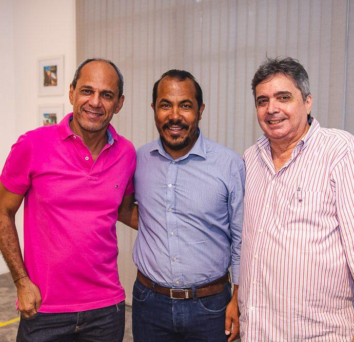 Mano Alencar, Antonio Almeida E Totonho Laprovitera