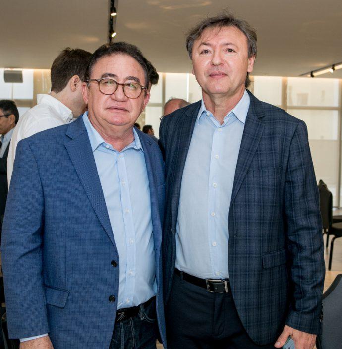 Manoel Linhares E Mauricio Filizola