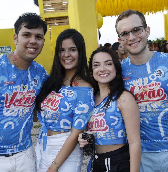 Marcelo Victor, Mirella Alves, Helena Caroline E Michel Barbara