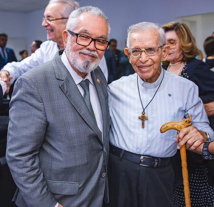 Marcos Ratakazo e Padre Edmilson