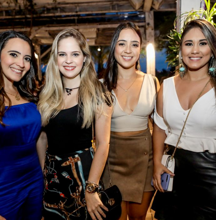Mariana Saldanha, Celine Costa, Dile Vasconcelos E Flavia Alves