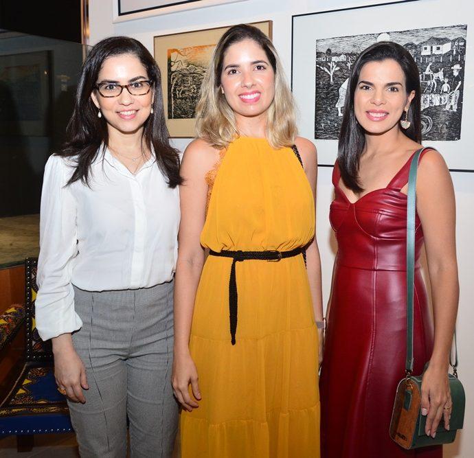 Marília Crisóstomo, Denise Tomaz E Lara Rosado