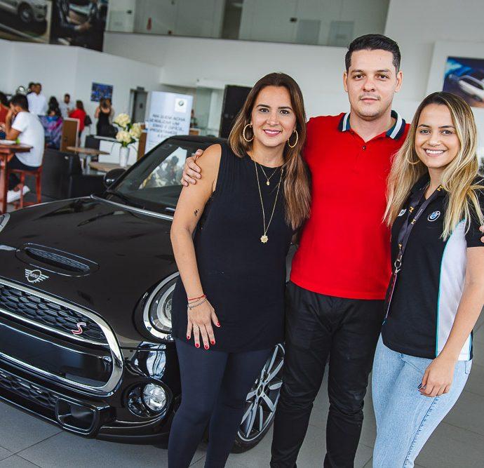 Marina Vieira, Saulo Parente E Beatriz Bezerra