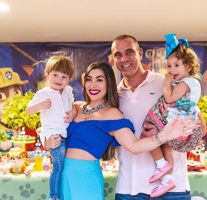 Mark Filho, Nicole De França, Noalla De França E Igor Parente