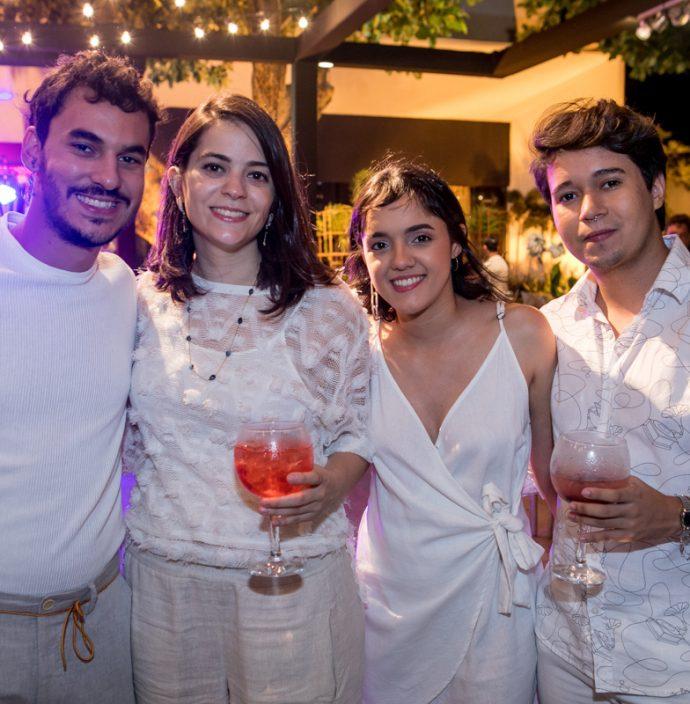 Mateus Sales, Clara Real, Tyfani Porto E Pedro Lemos