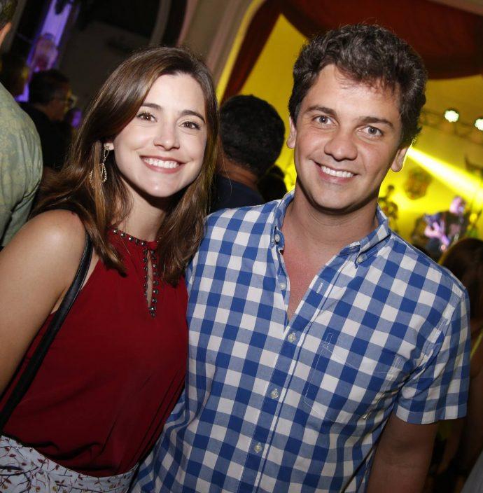 Maura Campos E Andre Benevides