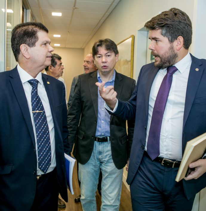 Mauro Benevides Filho, Edgar Gadelha E Fabio Zeck