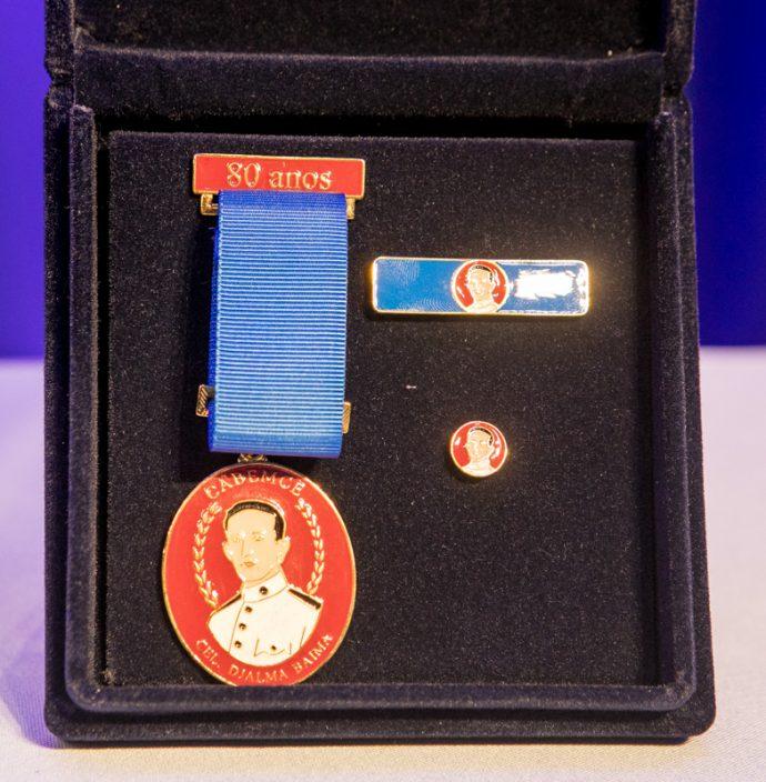 Medalha 80 Anos Cabemce