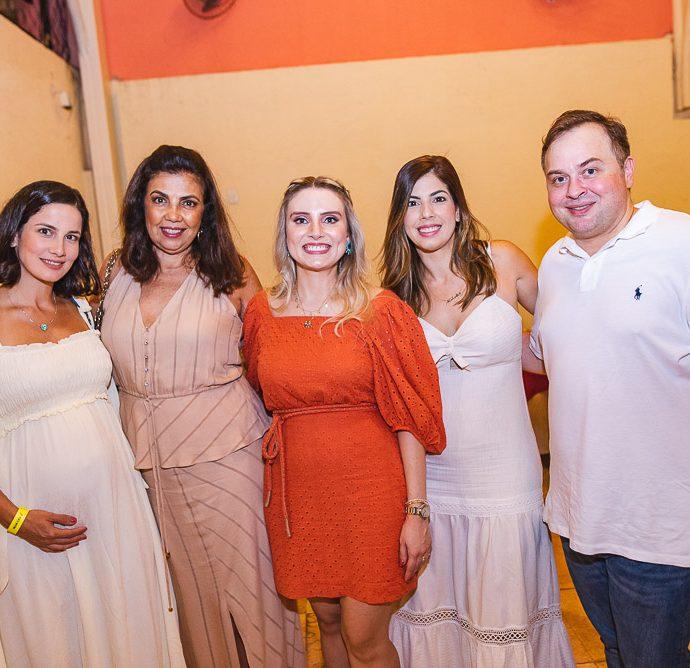 Melina Batista, Maria Luisa Viana, Renata Viana, Nathalia Duran E Mark Viana