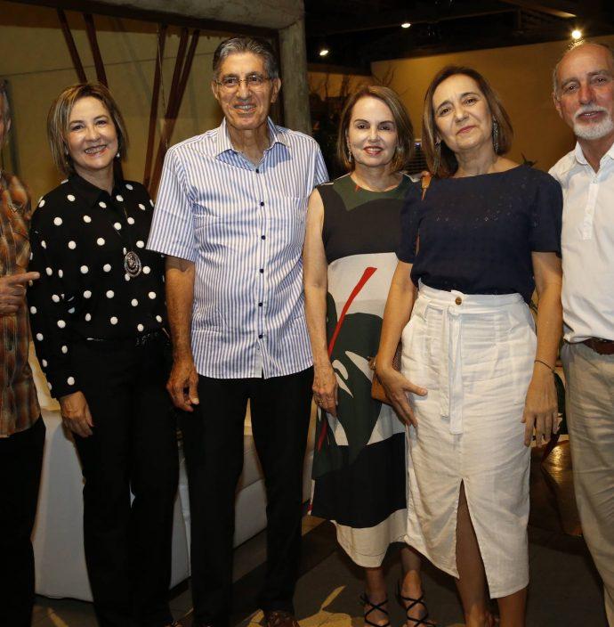 Miguel, Ana Sofia, Jose E Cibele Hissa, Nana E Julio Barreira