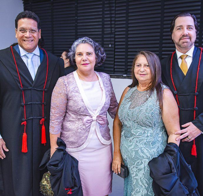 Miguel Angelo, Sheila Pitombeira, Fatima Valente e Leo Bossar