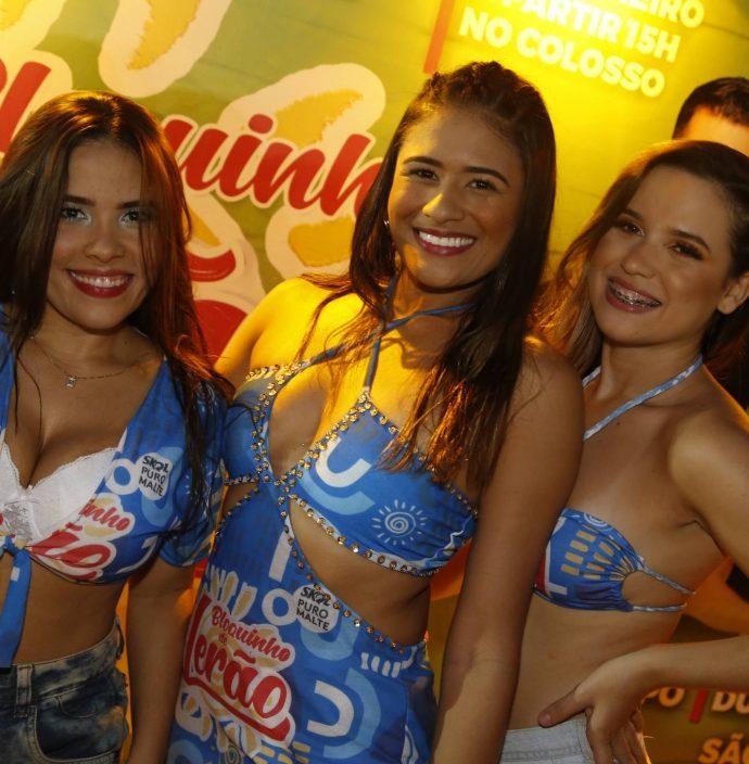 Mikaela Lima, Milene Cassia E Erica Vidal