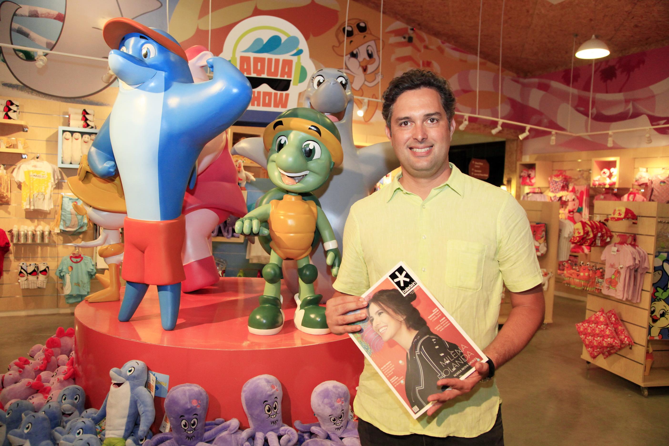 CEO do Beach Park, Murilo Pascoal comemora o forte crescimento no número de visitantes do complexo