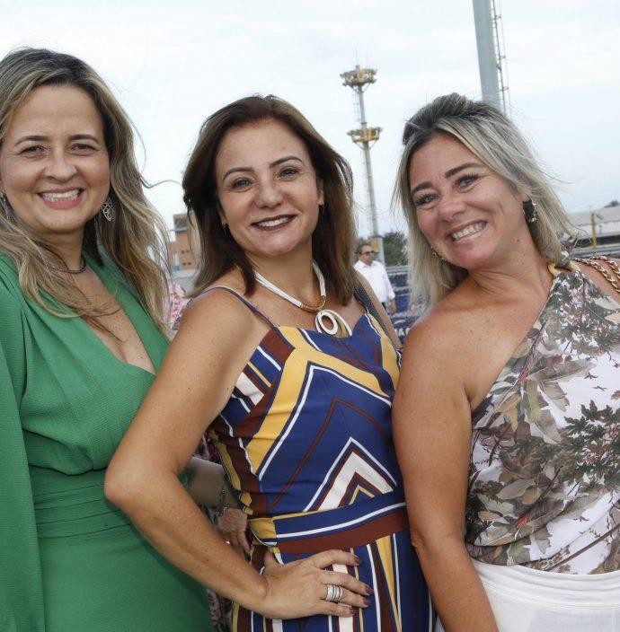 Mychele Sampaio, Simone Cardoso E Luciana Silva