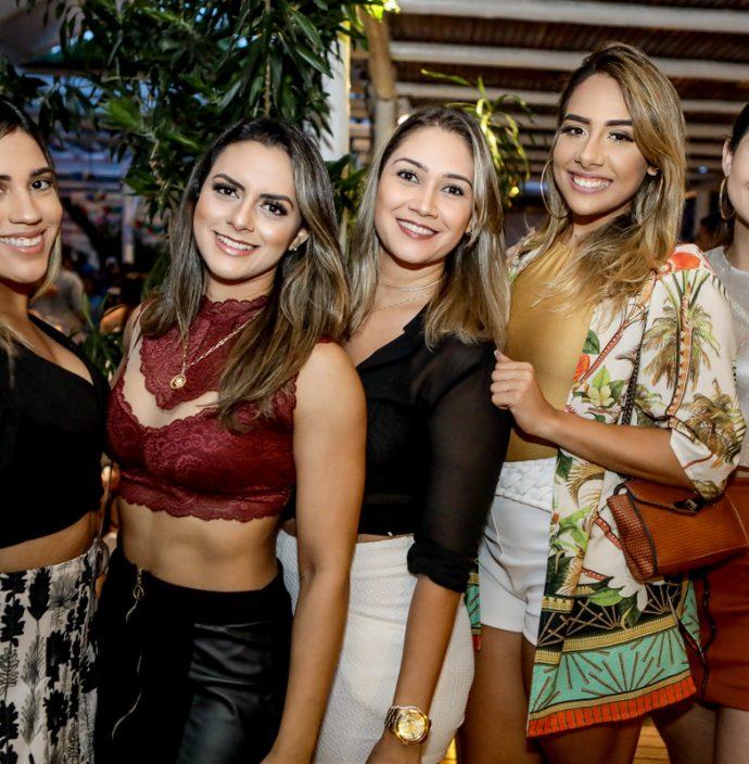 Natalia Almeida, Amanda Teixeira, Ana Xavier, Tais Araujo E Karla Pascoal
