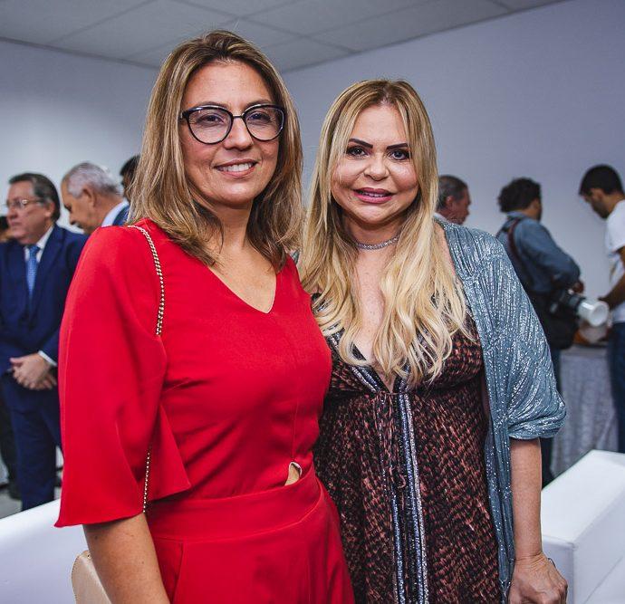 Nerisse Fernandes e Ivana Cei