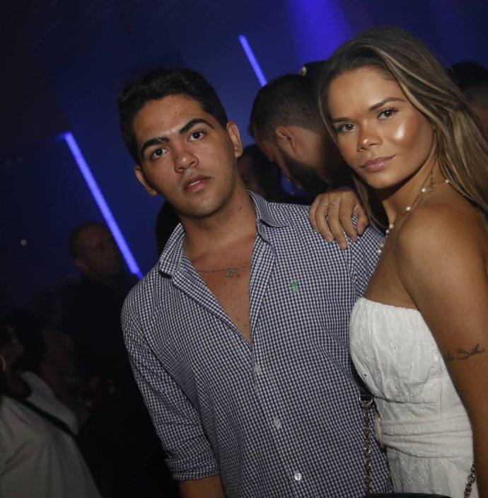 Neto Braga e Luana Oliveira