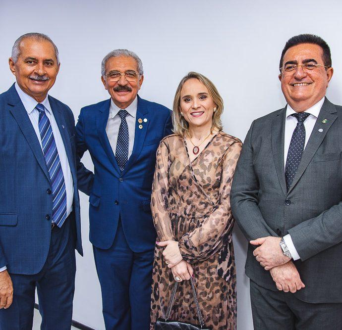 Nezinho Farias, Walter Cavalcante, Fernanda Pacobayba e Ricardo Macedo