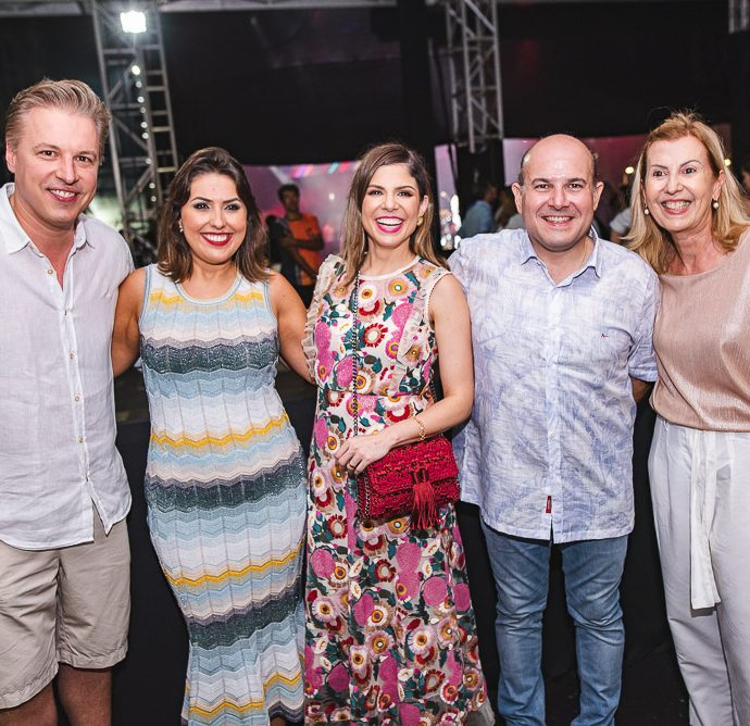 Nicolas Soares, Lisiane Soares, Carol Bezerra, Roberto Claudio E Maria Celeste Soares