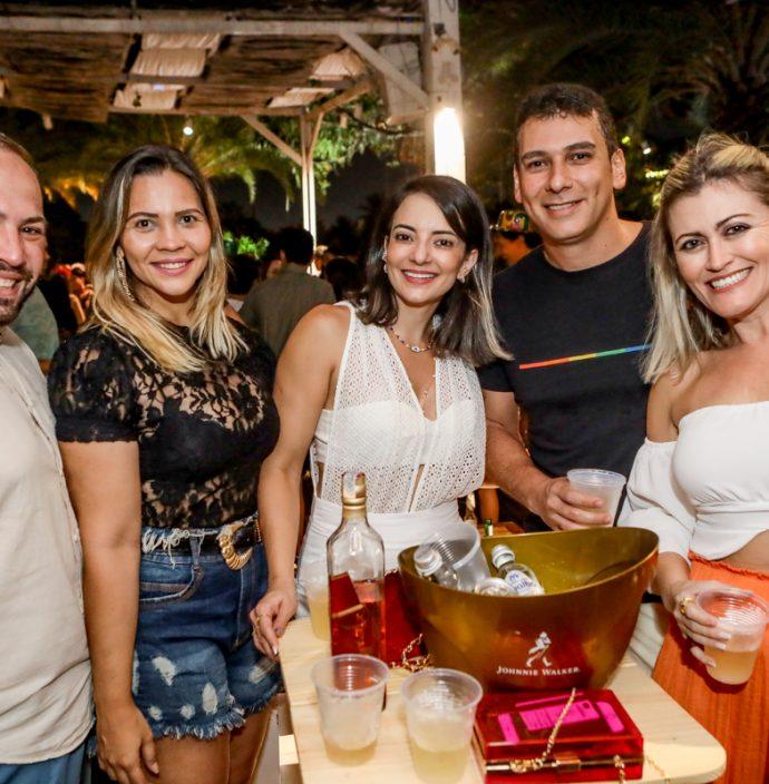 Orlan Almeida, Aline Daniela, Ludimila Feitosa, Danilo Queiroz E Isabel Lourenço