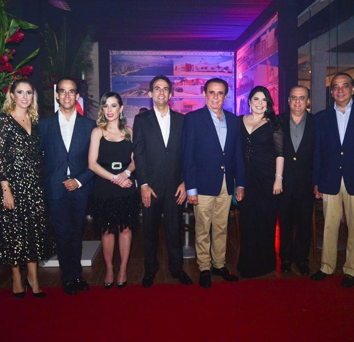 Paola Zanotteli, Igor Lucena, Ingrid Lucena, Gaudêncio Júnior, Gaudêncio Lucena, Selene E Maz Câmara E Carlos Gualter Lucena