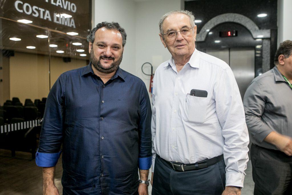 Patriolino Dias e Jurandir Picanço