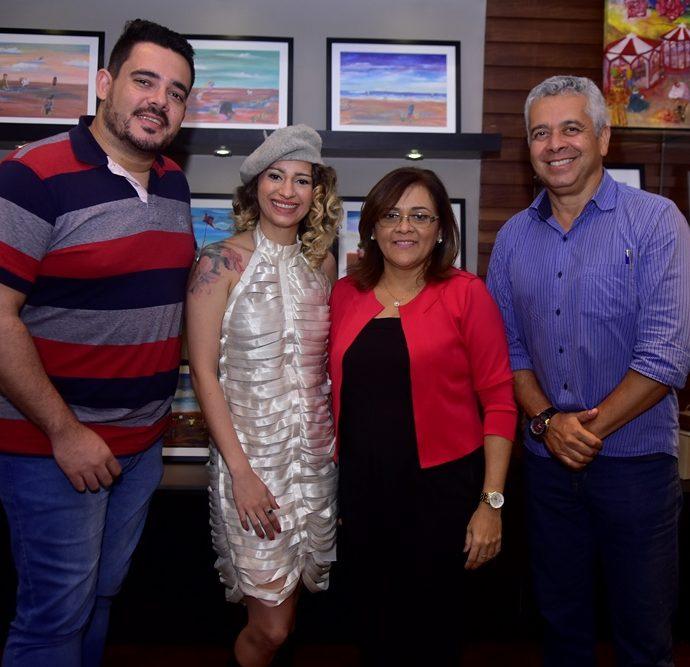 Paulo Bragança, Maiara Capistrano, Adriana Araújo, Alberto Augusto