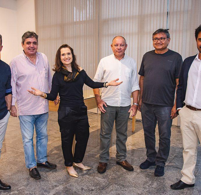 Pedro Boaventura, Totonho Laprovitera, Andrea Dallolio, Napoleao Ferreira, Aureo Castelo Branco E Fabricio Porto
