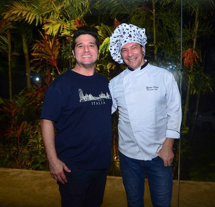 Pedro Gurjão E Chef Diego Gaston
