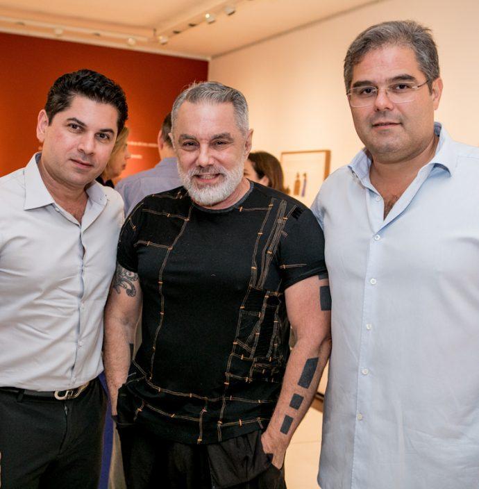 Pompeu Vasconcelos, Lino Villaventura E Edson Queiroz Neto