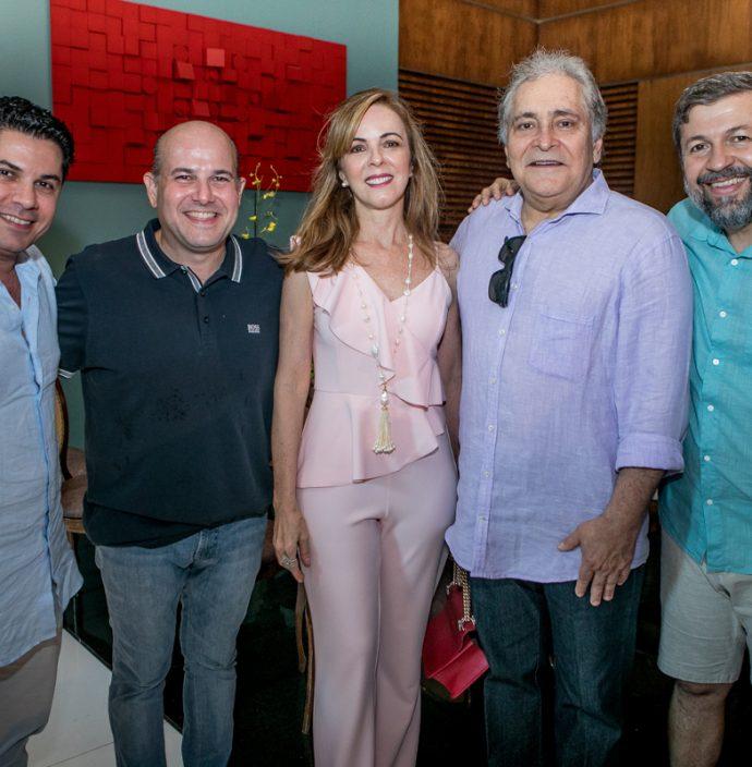 Pompeu Vasconcelos, Roberto Claudio, Karisia E Luiz Pontes, Elcio Batista
