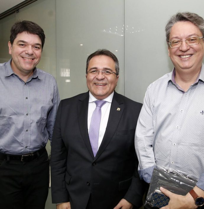 Raul Santos, Romildo Rolim E Celio Bezerra Melo