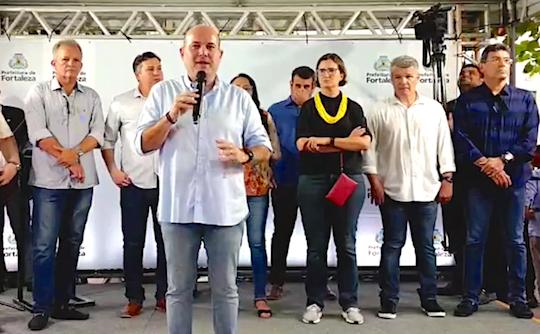 Roberto Cláudio autoriza início das obras de requalificação da Avenida Desembargador Moreira