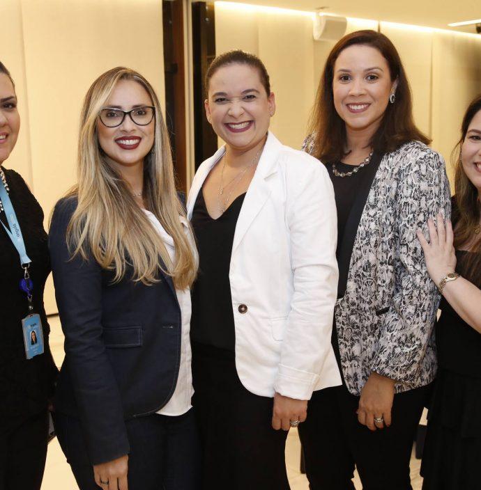 Rejane Ponte, Ticiane Moraes, Ana Virginia Sales, Cybele Almeida E Rebeca Frota